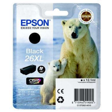 EPSON Mustepatruuna musta, 500 sivua, high yield