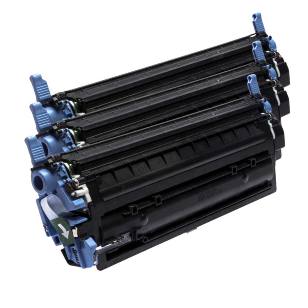 Image of 3-pakkaus musta väriainekasetti