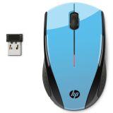 HP X3000 Trådløs mus, Aqua Blue