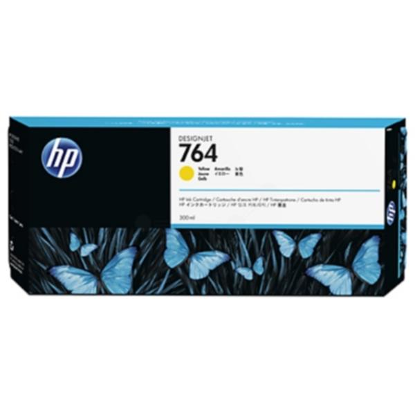 Pris på HP Blekkpatron gul HP 764, 300ml C1Q15A Tilsvarer: N/A