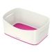Boks MyBox® uten lokk Hvit/Rosa