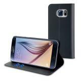 Celly Wallet Case Galaxy S7 Svart
