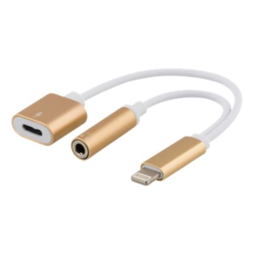 EPZI Lightning til 3,5 mm adapter, gull