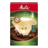 Melitta Kaffefilter Gourmet 1x4 pakke med 80 stk.