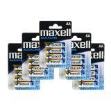 Maxell Batterier LR6/AA Alkaliske 20-pakk
