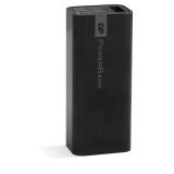 GP 2600 mAh bærbar Powerbank, svart