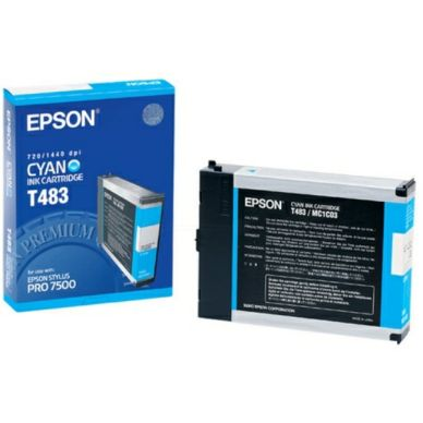 EPSON Mustepatruuna cyan 110ml