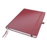 Notatbok Complete A4 Linjer 96g/80a Rød