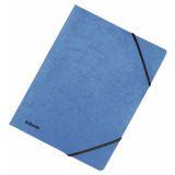 Snoddmapp Esselte FSC® A4 blå, 5 st