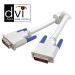 Vivanco Data kabel DVI-D Hann - DVI-D Hann dual-link 3 m