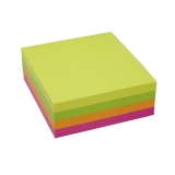 Notes Stick n Notes 76x76mm flerfarvet 5 stk
