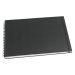 Skissblock GRIEG A3 liggande 150g svart