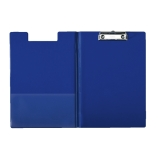 Skrivplatta m.omslag A4 blå