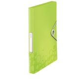 Arkivboks Leitz WOW PP 30 mm Grønn
