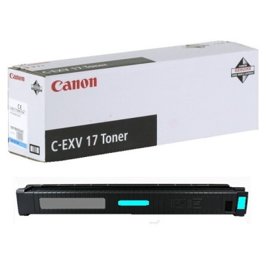 CANON Värikasetti cyan 30,000 sivua (C-EXV 17)