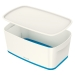 Oppbevaringsboks Small Leitz MyBox® m/lokk Hvit/Blå
