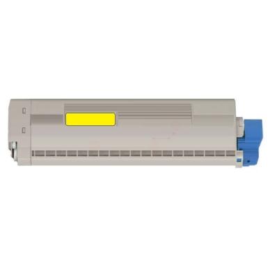 OKI MC 873 Y lasertoner – 45862814  – Gul 10000 sider
