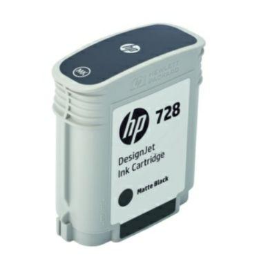 HP Cartouche d'encre noir mat HP 728, 69 ml