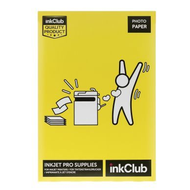 inkClub Fotopapir Premium 10x15 20 ark 240g PS602 Modsvarer: N/A