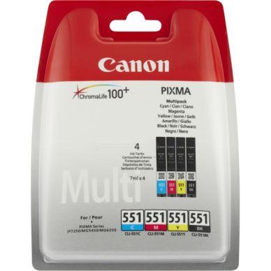 CANON Multipack bläckpatroner 4x7 ml 6509B008 Motsvarar: N/A