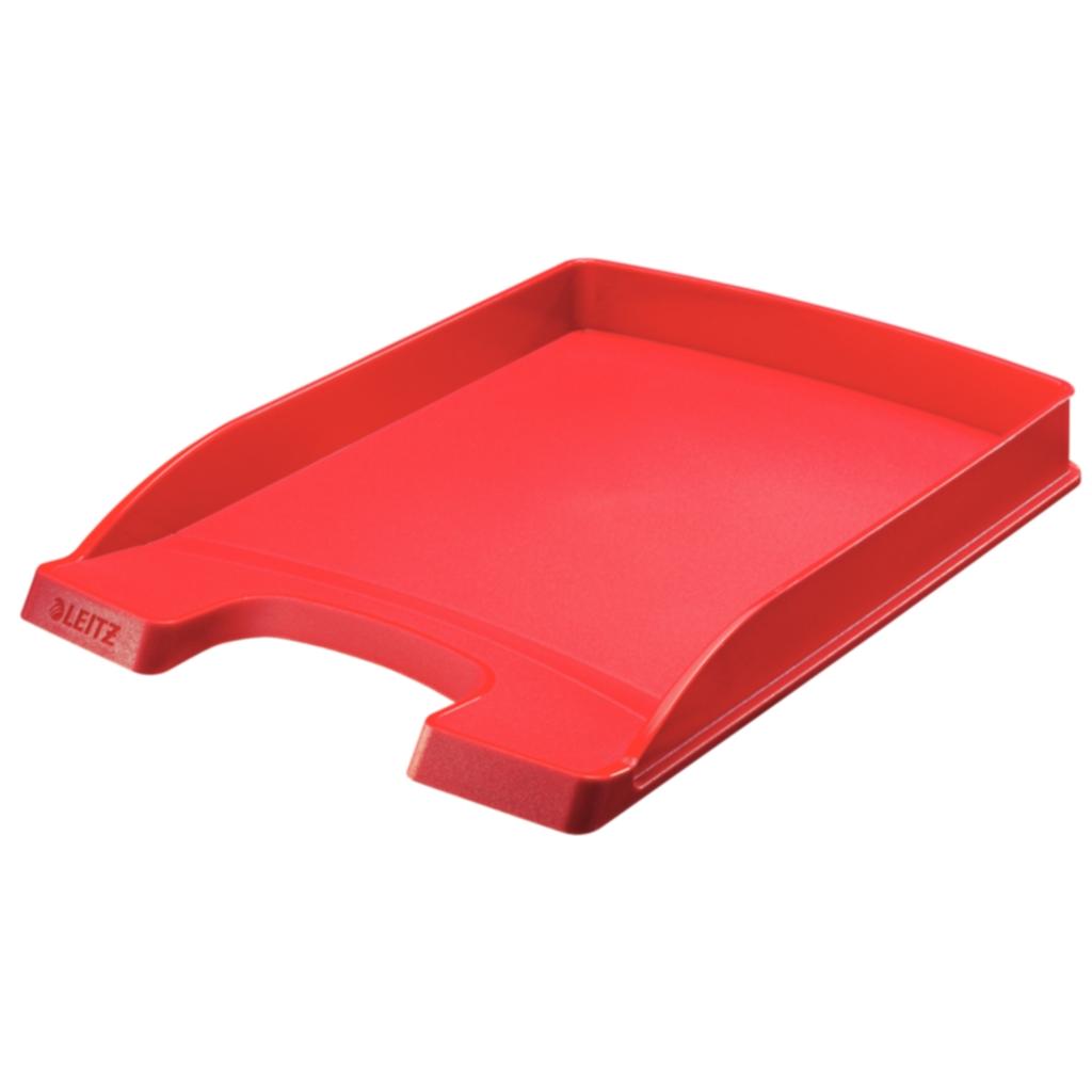 Brevkorg Leitz Plus Slim röd