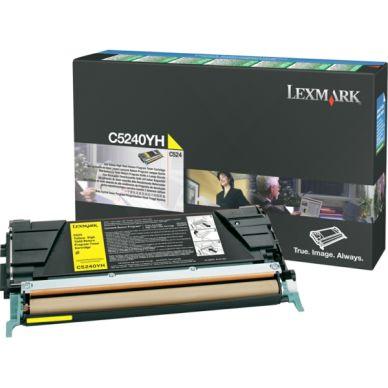 LEXMARK Värikasetti keltainen 5.000 sivua return