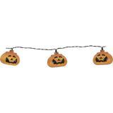 Halloween Lysslynge Gresskar, batteridrevet