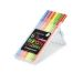 Fiberspetspenna TRIPLUS sorterade NEON färger 1,0mm, 6st