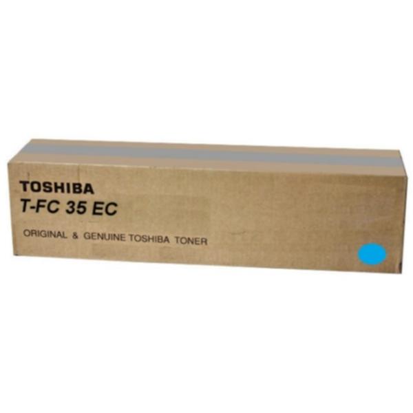 Pris på TOSHIBA Tonerkassett cyan 21 000 sider TFC35C Tilsvarer: N/A