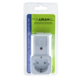 Airam Trådlöst Extra Uttag IP20 För 2441550