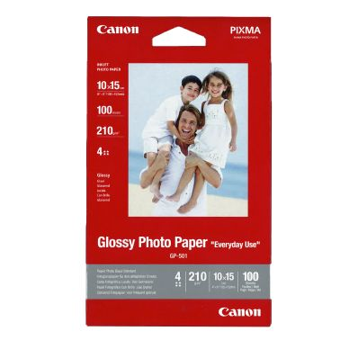 CANON Fotopapir Glossy 10x15 100ark 210g