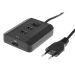 DELTACO USB-laddningsstation, 3 USB-portar, 3A