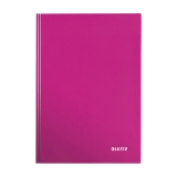 Anteckningsbok Leitz Wow  A5 linjerat rosa