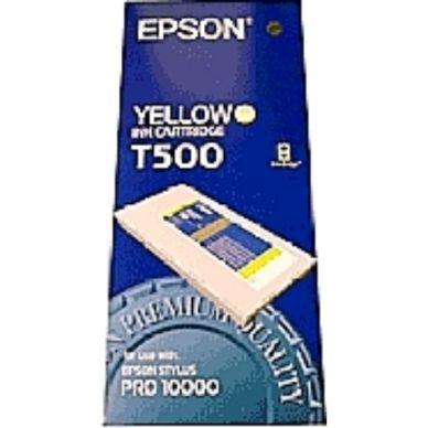 EPSON Mustepatruuna keltainen 500ml