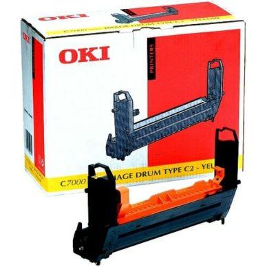 Bild OKI Fotoleitertrommel gelb Type C4 23.000 Seiten