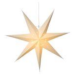 Katabo adventsstjärna 70 cm, vit