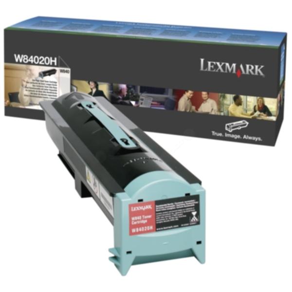 Pris på Lexmark Tonerkassett sort 30 000 sider W84020H Tilsvarer: N/A