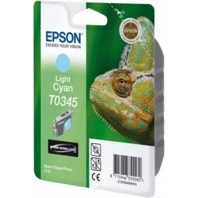 EPSON Mustepatruuna vaalea cyan 17ml