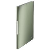 Displaybog Leitz Style PP 20 lommer grøn