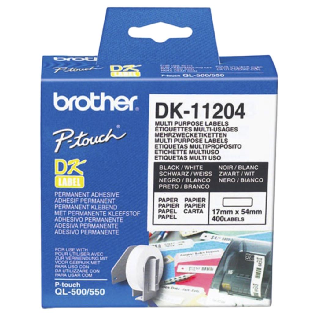 BROTHER Etikett BROTHER universal 17x54mm (400)