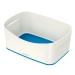 Boks MyBox® uten lokk Hvit/Blå