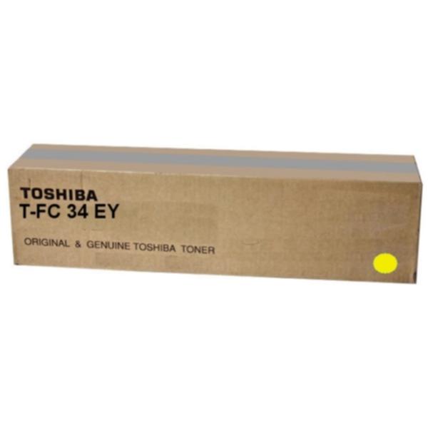 Pris på TOSHIBA Tonerkassett gul 11.500 sider 6A000001525 Tilsvarer: N/A