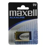 Maxell Batterier 6LR61, 9V Alkaliske