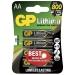 GP AA-litiumbatteri 1.5V, 15LF-2U4