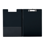 Clipboard Esselte A4 med forside sort