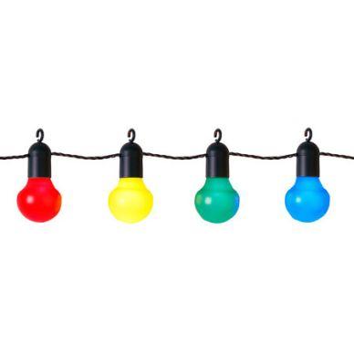 Star Trading Partyslinga LED 20 lampor, multifärgad 476-14 Motsvarar: N/A
