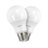 Airam LED normaal E27, 6W, 2-Pack