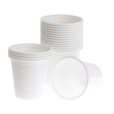 Plastikbæger 12cl hvid (80)