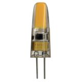 Illumination LED 12V Klar G4, 1,4W