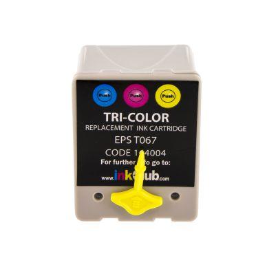 inkClub Mustepatruuna 3-väri, 18,6ml